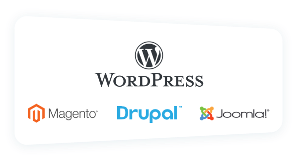 Install WordPress, Drupal, etc. with a single click